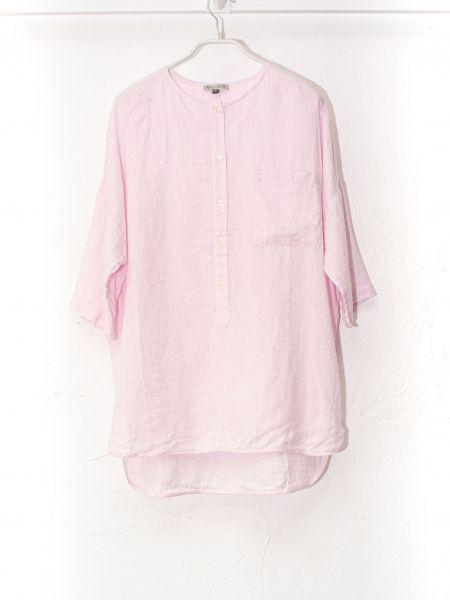 Рубашка casual - розовая Mariolli