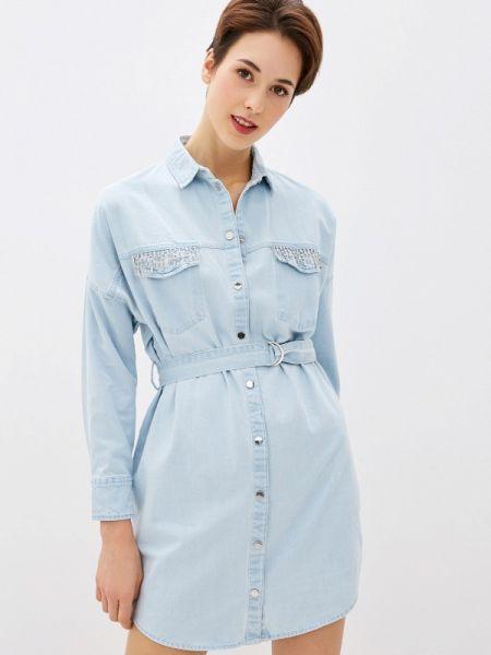 Джинсовое платье весеннее Guess Jeans