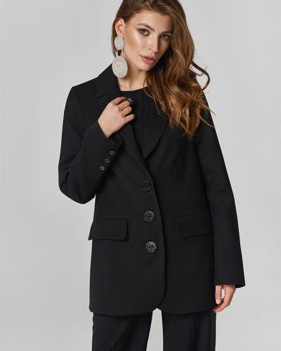 Пиджак оверсайз - черный Lipar