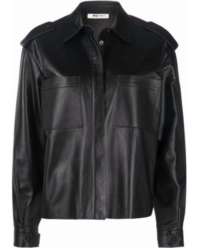 Кожаная рубашка - черная Ports 1961