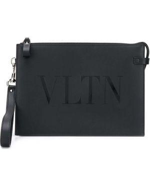 Черный клатч Valentino