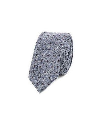 Шерстяной галстук - синий Altea