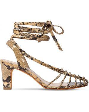 Żółte sandały skorzane Maryam Nassir Zadeh