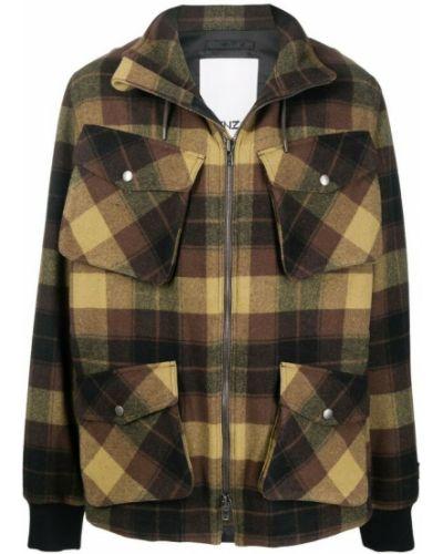Płaszcz - brązowy Kenzo
