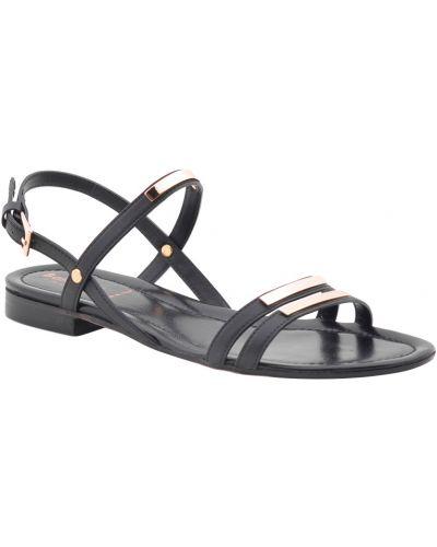 Черные сандалии на каблуке Baldinini
