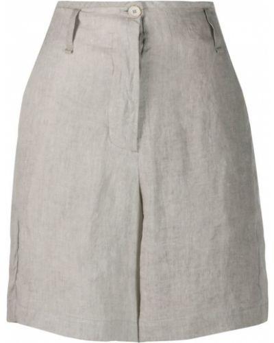 Однобортные шорты с карманами Masnada