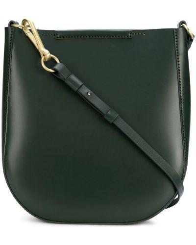 Кожаная сумка на плечо зеленый Stiebich & Rieth