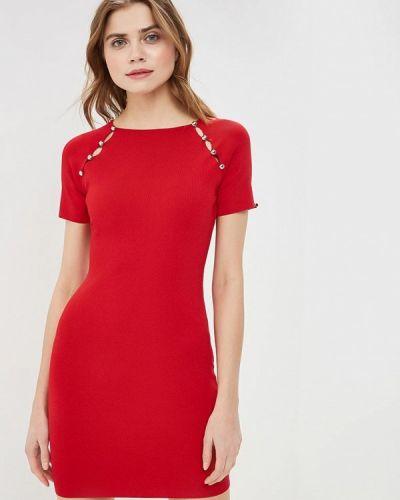Платье весеннее красный You&you