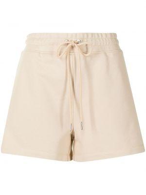 Хлопковые шорты с поясом на молнии Dion Lee