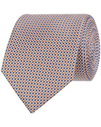Klasyczny krawat - niebieski Seidenfalter