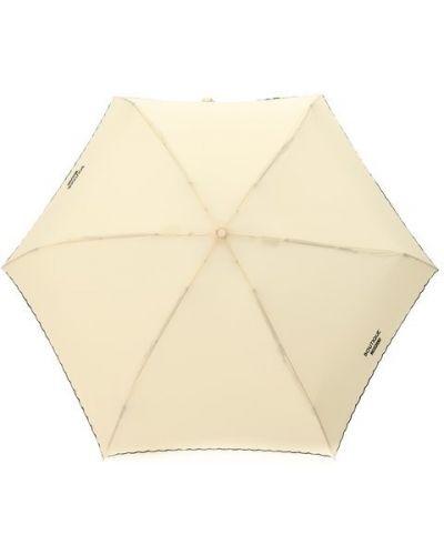 Бежевый зонт Moschino