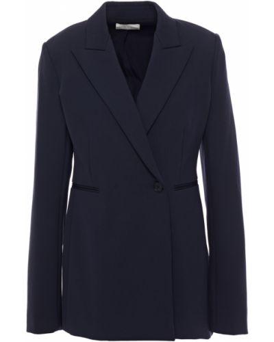 Синий пиджак с карманами на пуговицах The Row