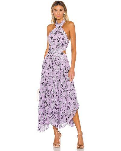 Sukienka mini w kwiaty z guzikami Keepsake