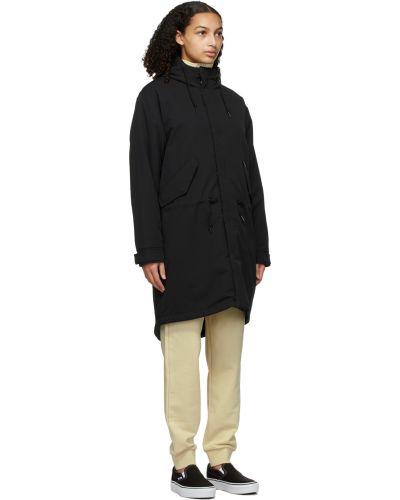 Długi płaszcz z kapturem - czarny Carhartt Work In Progress