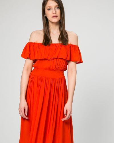 Платье мини трикотажное из вискозы Answear