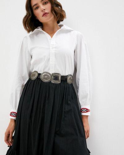 Белая рубашка с длинными рукавами Polo Ralph Lauren