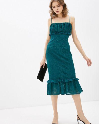 Зеленое вечернее платье Chi Chi London