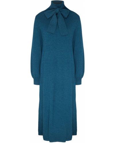 Платье миди с длинными рукавами с воротником Akhmadullina Dreams
