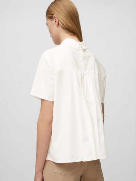 Блузка с короткими рукавами - белая Marc O'polo Denim