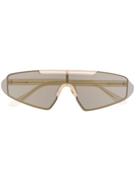 Okulary przeciwsłoneczne dla wzroku szkło khaki Acne Studios