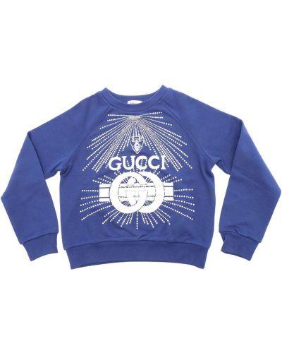 Zielony sweter Gucci