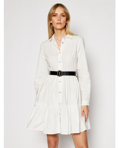 Biała sukienka Silvian Heach