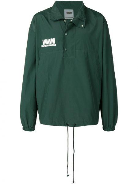 Классическая нейлоновая куртка с манжетами Wwwm