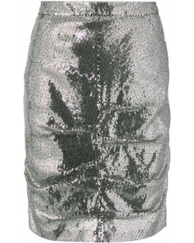 Юбка карандаш мини с завышенной талией Msgm