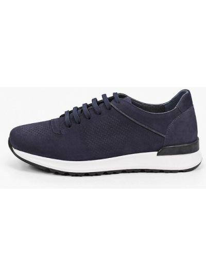 Синие кроссовки из нубука Pazolini