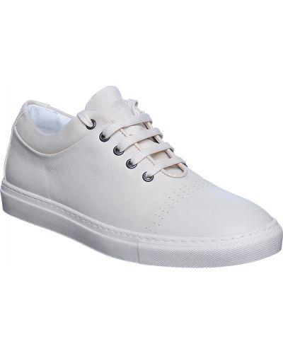 Бежевые кроссовки Armani Collezioni