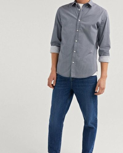 Рубашка с длинным рукавом синий Springfield