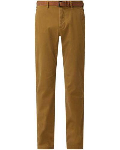 Beżowe spodnie bawełniane Mcneal