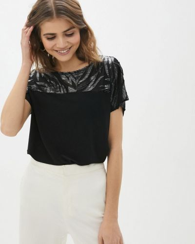 Черная футболка Wallis