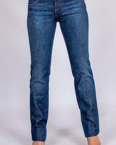 Костюмные синие джинсы C'n'c