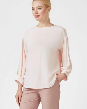 Блузка с длинным рукавом весенний бежевый Pompa