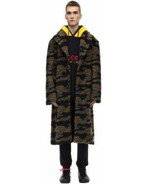 Płaszcz z printem Buscemi