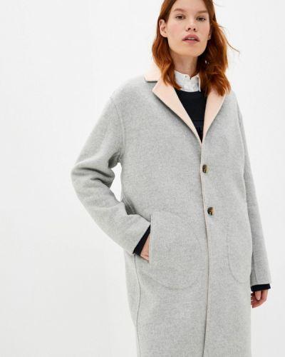 Серое пальто Tommy Hilfiger