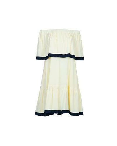 Желтое пляжное платье Vuall