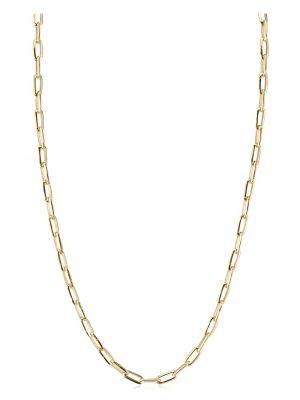 Złoty naszyjnik łańcuch - żółty Lizzie Mandler Fine Jewelry