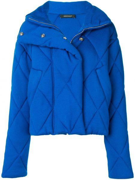 С рукавами синяя стеганая куртка Cédric Charlier