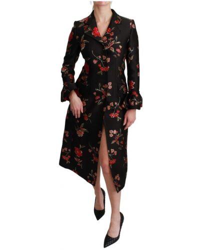 Trencz - czarny Dolce And Gabbana