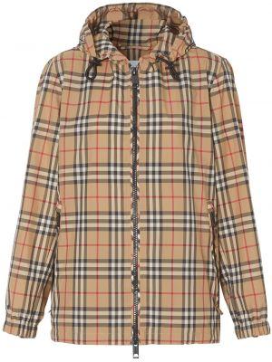 Куртка с капюшоном на молнии винтажная Burberry