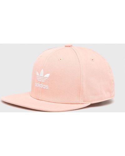 Шапка хлопковая розовый Adidas Originals