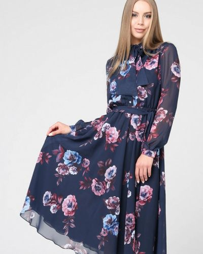 Вечернее платье - синее Brunello De Neri