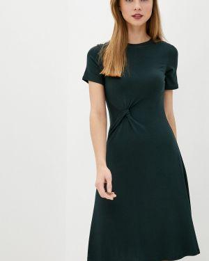 Зеленое футбольное платье Sela