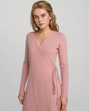 Однобортное розовое платье Befree