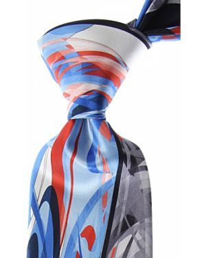 Czerwony krawat z jedwabiu Pancaldi