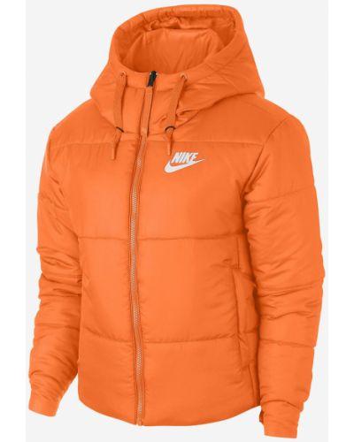 Прямая стеганая куртка мятная Nike