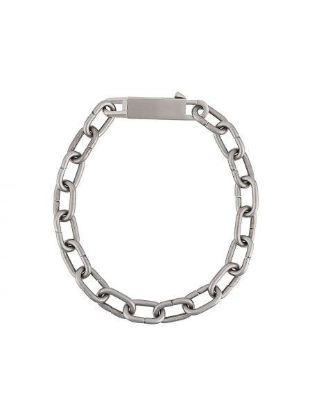 Ожерелье серебряный Rick Owens