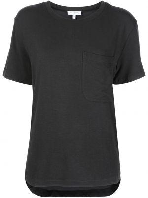 Черная футболка с короткими рукавами Equipment